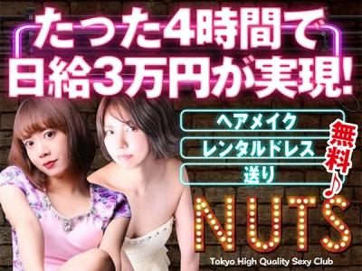 神田キャバクラ「NUTS(ナッツ)」の高収入求人