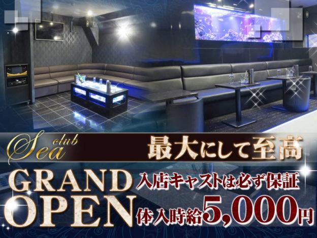 神田キャバクラ「CLUB SEA(クラブ シー)」の高収入求人