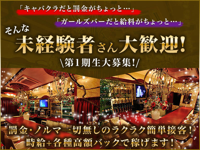 荻窪キャバクラ「Girl's Bar Lounge VIVI(ヴィヴィ)」の高収入求人
