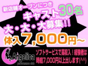 川崎セクキャバ「Angelica(アンジェリカ)」の高収入求人