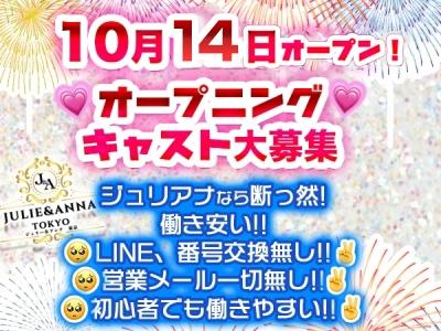 吉祥寺セクキャバ「JULIE&ANNA Tokyo(ジュリーアンドアンナトーキョー)」の高収入求人