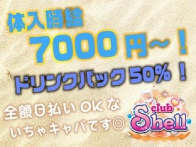 埼玉いちゃキャバ「志木 Club Shell(クラブシェル)」の高収入求人